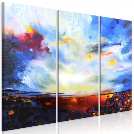 Tablou Colourful Sky (3 Parts) 120 cm x 80 cm-01