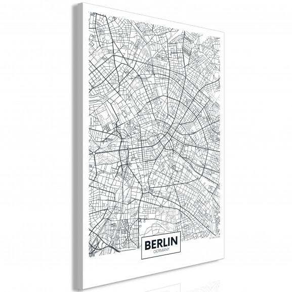 Tablou Map Of Berlin (1 Part)...