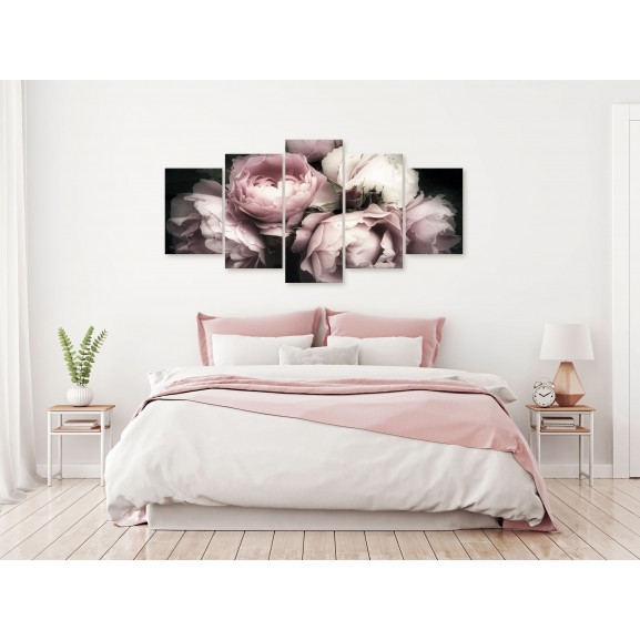 Tablou Smell Of Rose (1 Part) Wide 100 cm x 50 cm naturlich.ro