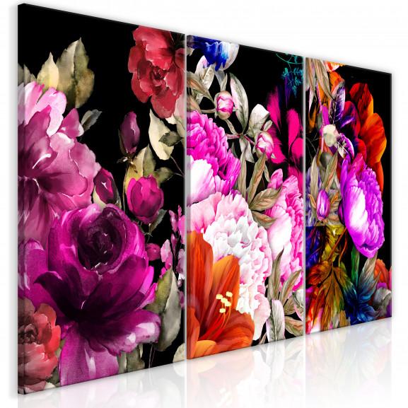Tablou Holiday Bouquet (3 Parts) 120...