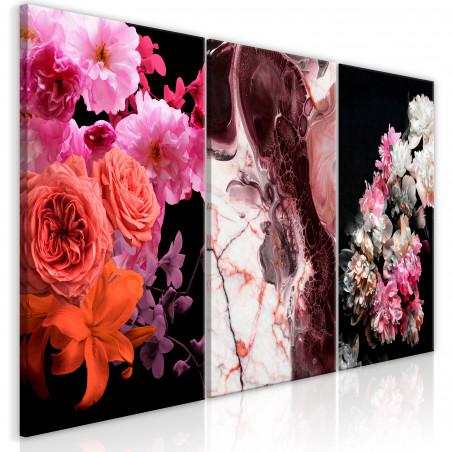 Tablou Spring Baroque (3 Parts) 120 cm x 60 cm-01