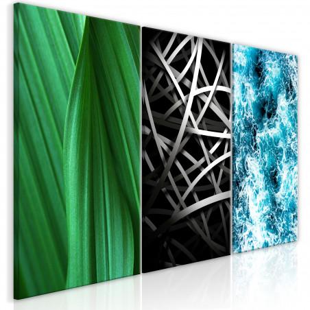 Tablou Structures In Nature (3 Parts) 120 cm x 60 cm-01
