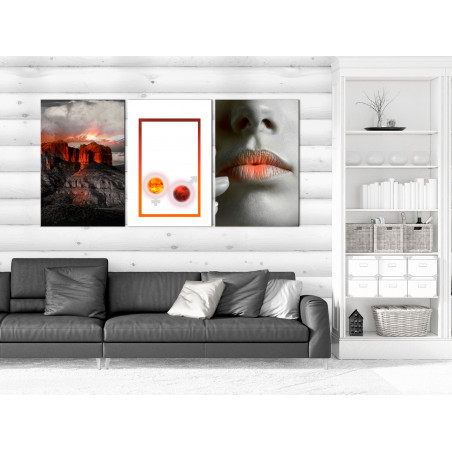 Tablou Passion (3 Parts) 120 cm x 60 cm-01