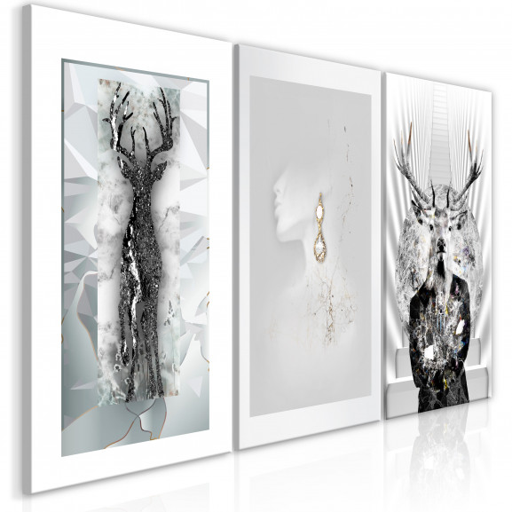 Tablou Beauty Of Nature (3 Parts) 120...
