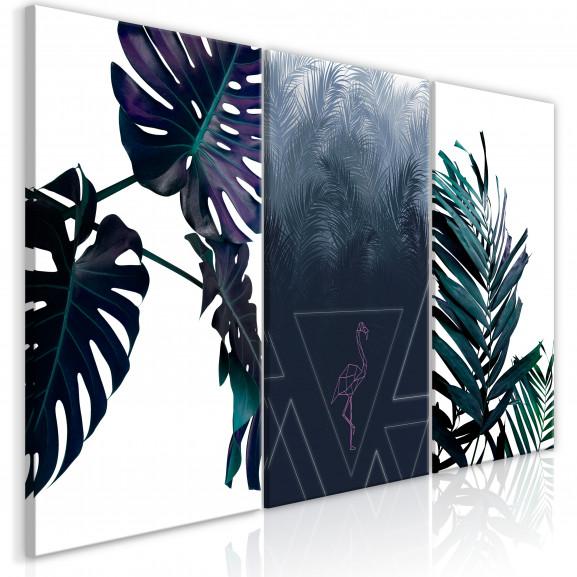 Tablou Cool Leaves (3 Parts) 120 cm x...