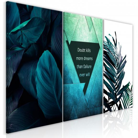 Tablou Jungle Dreams (3 Parts) 120 cm...