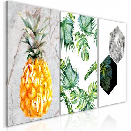 Tablou Hot Tropics (3 Parts) 120 cm x 60 cm-01