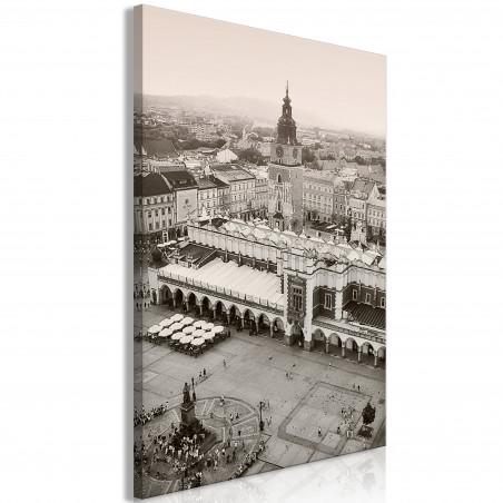 Tablou Cracow: Cloth Hall (1 Part) Vertical 40 cm x 60 cm-01