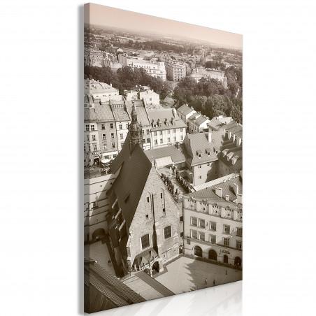 Tablou Cracow: Old City (1 Part) Vertical 40 cm x 60 cm-01