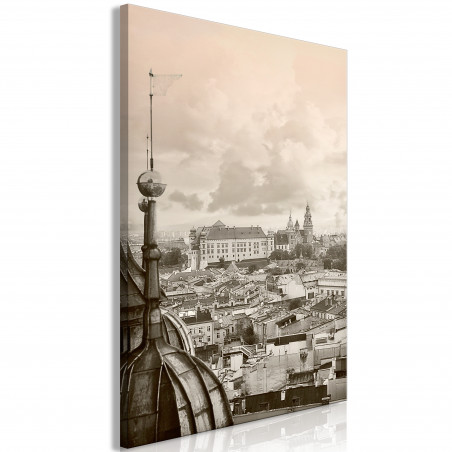Tablou Cracow: Royal Castle (1 Part) Vertical 40 cm x 60 cm-01