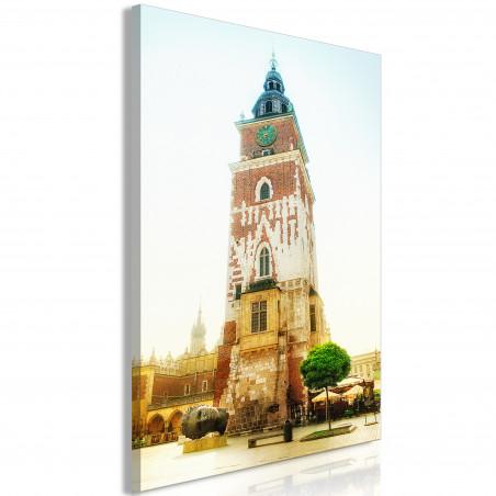 Tablou Cracow: Town Hall (1 Part) Vertical 40 cm x 60 cm-01