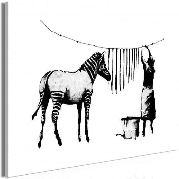 Tablou Banksy: Washing Zebra (1 Part)...