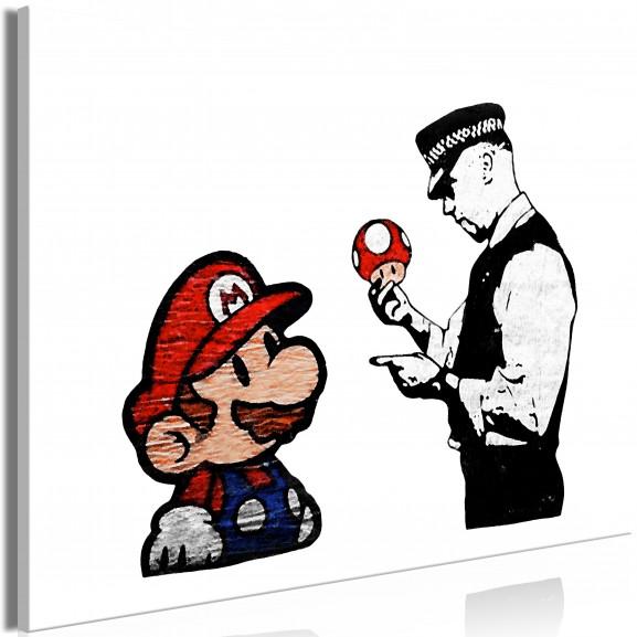 Tablou Banksy: Mushroom Picker (1...
