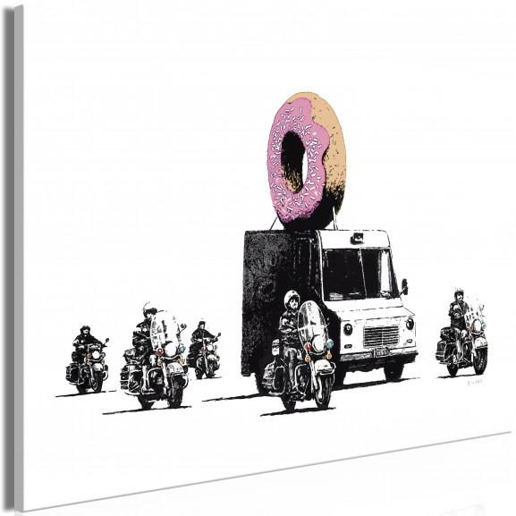 Tablou Donut Police (1 Part) Wide 120...
