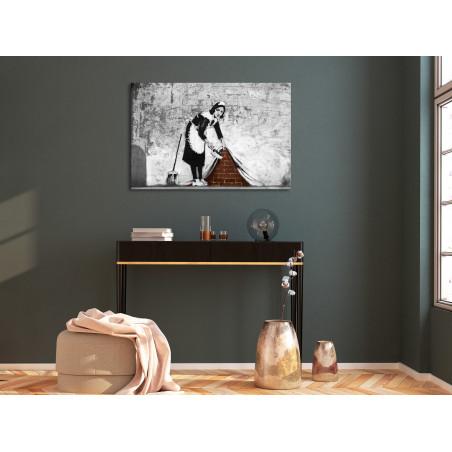 Tablou Maid (1 Part) Wide 120 cm x 80 cm-01