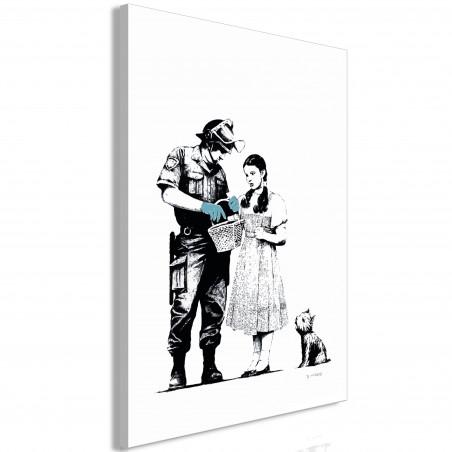 Tablou Dorothy And Policeman (1 Part) Vertical 40 cm x 60 cm-01