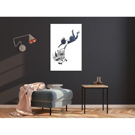 Tablou Shopping Spree (1 Part) Vertical 40 cm x 60 cm-01