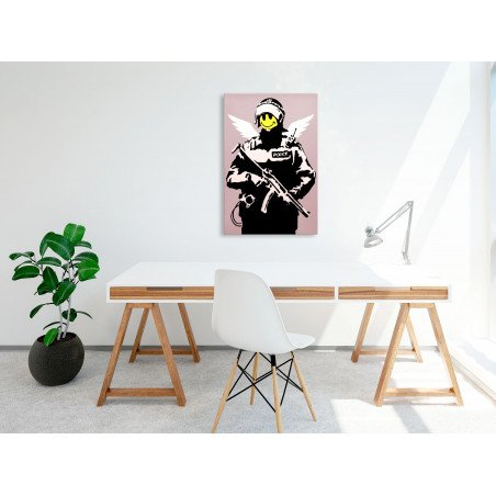 Tablou Policeman (1 Part) Vertical 40 cm x 60 cm-01