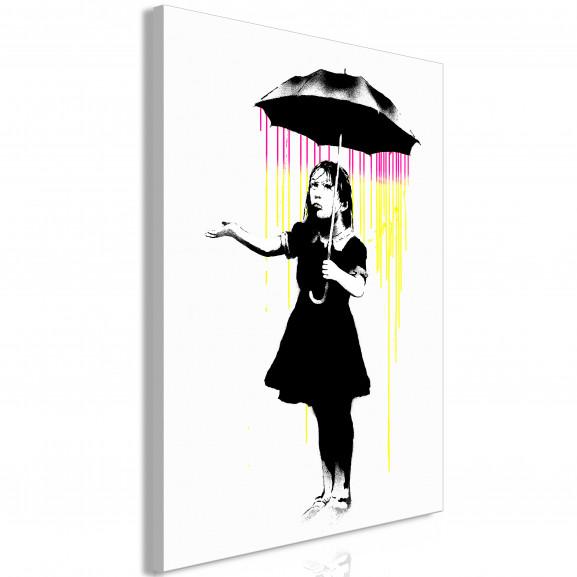 Tablou Girl With Umbrella (1 Part)...