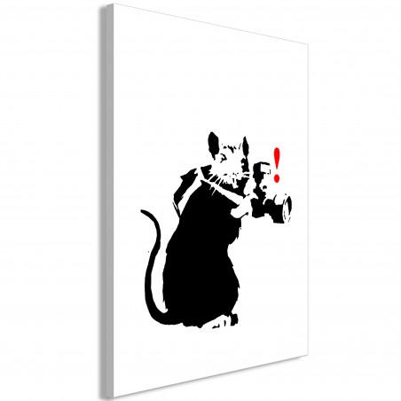 Tablou Rat Photographer (1 Part) Vertical 40 cm x 60 cm-01