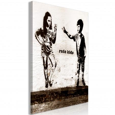 Tablou Rude Kids (1 Part) Vertical 40 cm x 60 cm-01