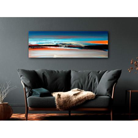 Tablou Landscape At Dawn (1 Part) Narrow 120 cm x 40 cm-01
