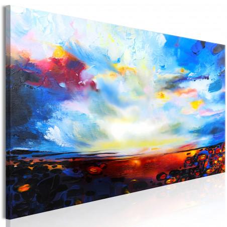 Tablou Colourful Sky (1 Part) Narrow 120 cm x 40 cm-01
