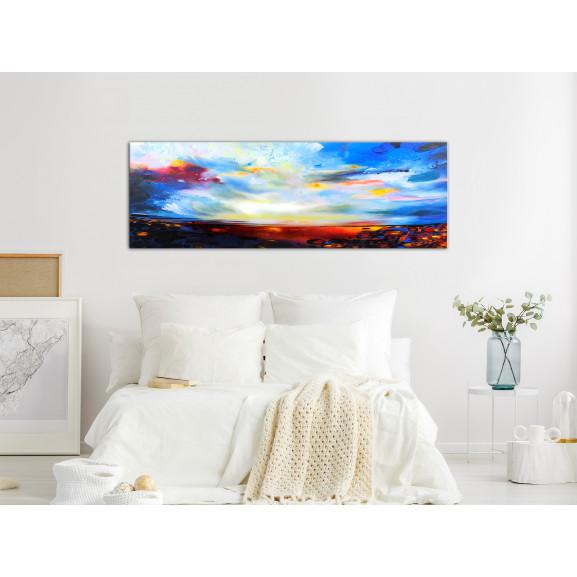 Tablou Colourful Sky (1 Part) Narrow 120 cm x 40 cm naturlich.ro