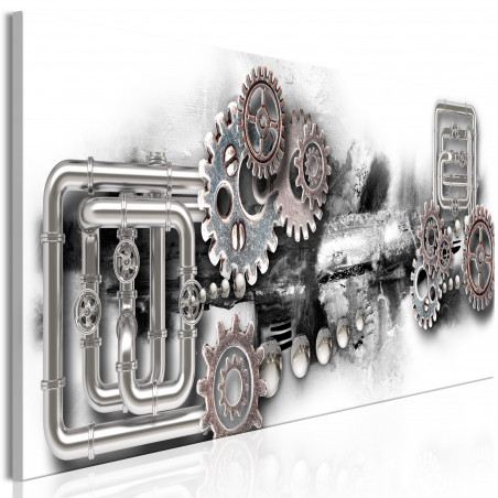 Tablou Strange Machine (1 Part) Narrow 120 cm x 40 cm-01
