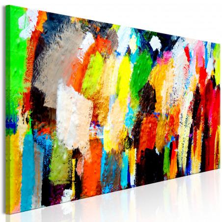 Tablou Colourful Variations 120 cm x 40 cm-01