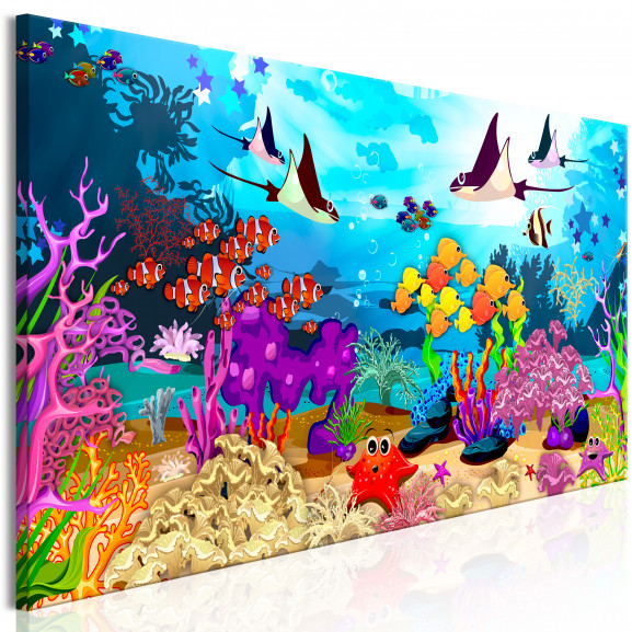 Tablou Underwater Fun (1 Part) Narrow...