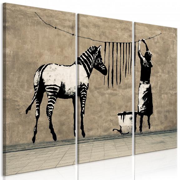 Tablou Banksy: Washing Zebra On...