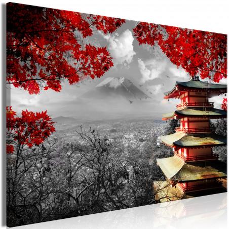 Tablou Japanese Adventure (1 Part) Wide 120 cm x 80 cm-01