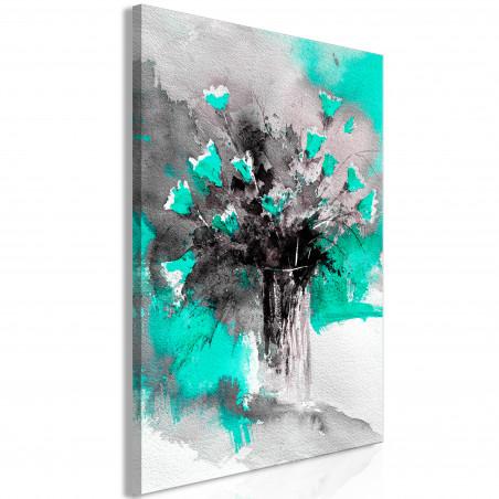 Tablou Bouquet Of Colours (1 Part) Vertical Green 40 cm x 60 cm-01