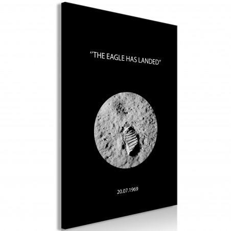 Tablou The Eagle Has Landed (1 Part) Vertical 40 cm x 60 cm-01
