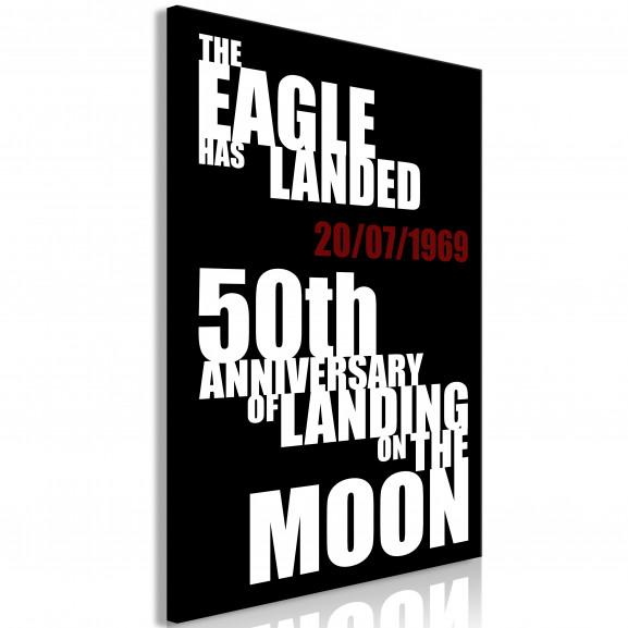 Tablou Moon Landing (1 Part) Vertical...