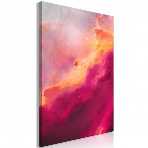 Tablou Pink Nebula (1 Part) Vertical...