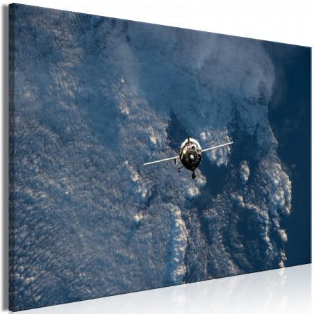 Tablou Blue Planet (1 Part) Vertical 120 cm x 80 cm-01