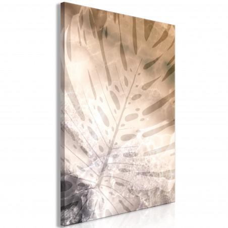 Tablou Amber Monstera (1 Part) Vertical 40 cm x 60 cm-01