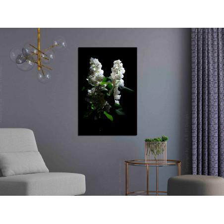 Tablou Lilacs At Night (1 Part) Vertical 40 cm x 60 cm-01