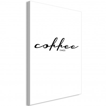 Tablou Coffee Times (1 Part) Vertical 40 cm x 60 cm-01