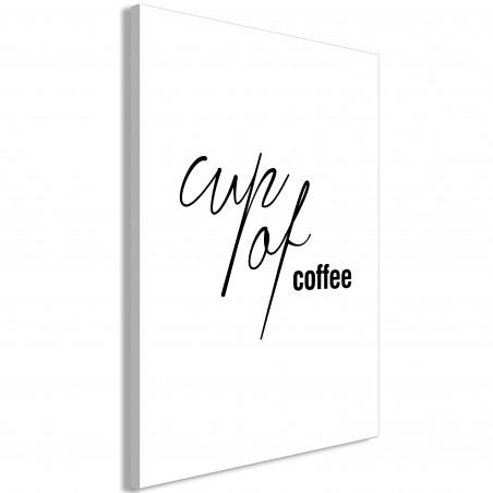 Tablou Cup Of Coffee (1 Part) Vertical 40 cm x 60 cm-01