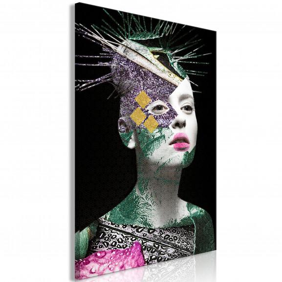 Tablou Colourful Portrait (1 Part)...