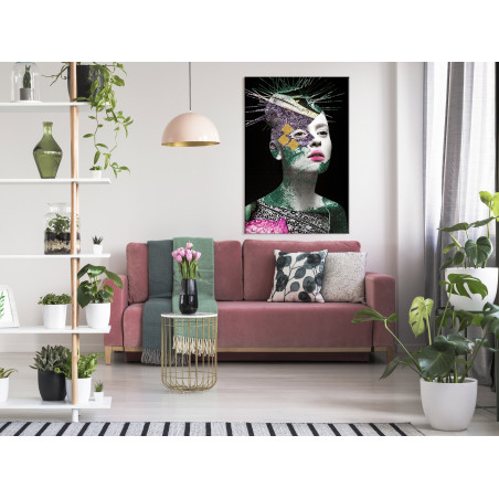 Tablou Colourful Portrait (1 Part) Vertical 40 cm x 60 cm-01