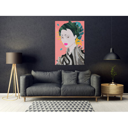 Tablou Asian Style (1 Part) Vertical 40 cm x 60 cm-01