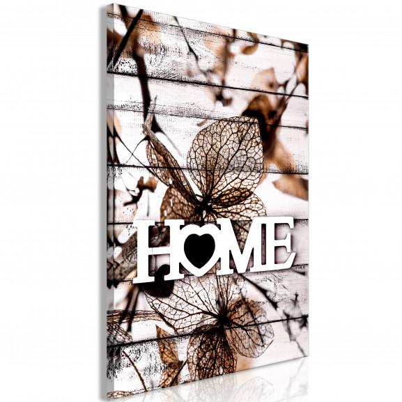 Tablou Living Home (1 Part) Vertical...