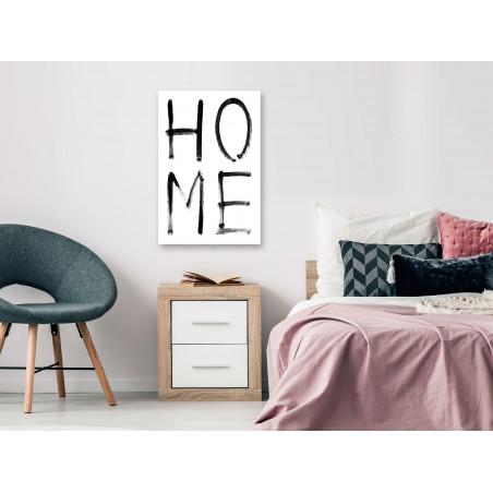 Tablou Home Expression (1 Part) Vertical 40 cm x 60 cm-01