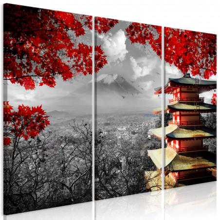 Tablou Japanese Adventure (3 Parts) 120 cm x 80 cm-01