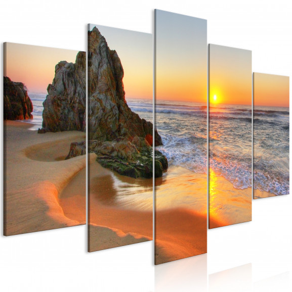 Tablou Meeting At Sunset (5 Parts)...