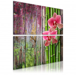 Tablou Bamboo And Orchid 40...
